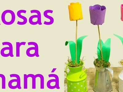 Manualidades para Regalar el Día de las Madres – Manualidades de Lina