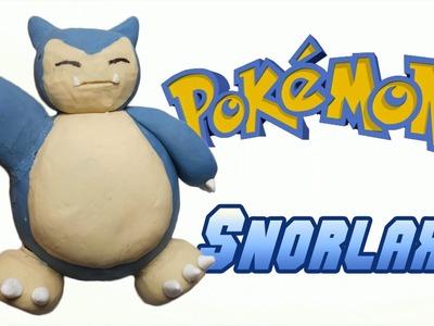 Pokemon   Snorlax Clay Tutorial   Plastilina