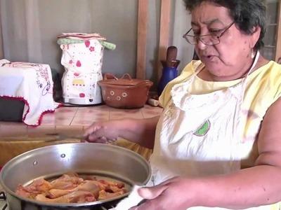 Pollo en estofado - Al estilo de la abuela Oti