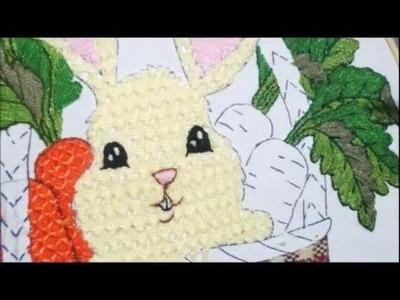 [Puntada Fantasía] Conejo | Bordados con Isa