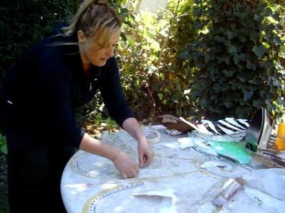 Realización de telas con bolsas de plastico Parte 3 (Ser concientes)