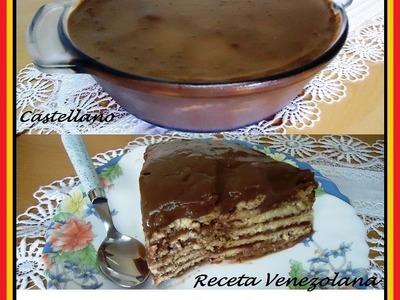 Receta de Marquesa de Chocolate Venezolana fácil y rápida