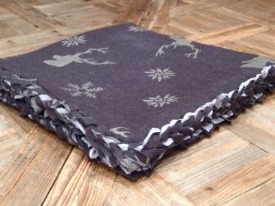 Tutoriales patchwork: Cómo hacer una colcha sin coser