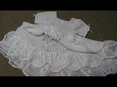 Vestido Lluvia de Abanicos parte 1 de 2