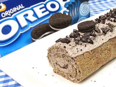 Brazo de Gitano de Oreo | Cake Roll