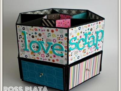 Caja organizadora para escritorio