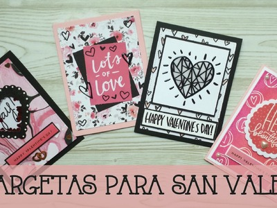 "Card Kit Simon Says Stamps: ""Tarjetas para San Valentín"""