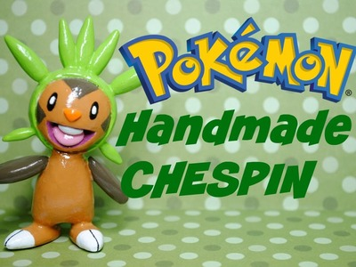 CHESPIN Polymer Clay POKEMON (sculpey)- ハリマロン