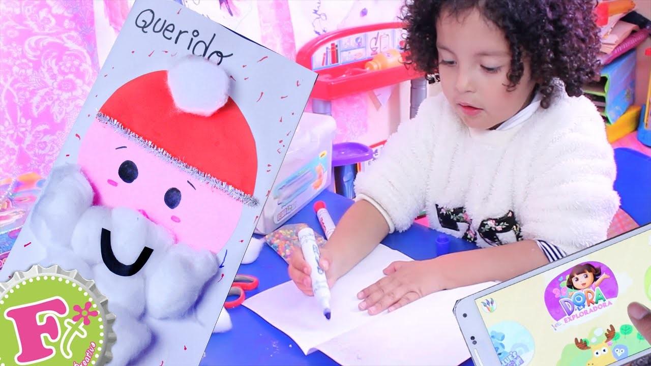 Como hacer Carta para Santa y Super SORPRESA para Sofi