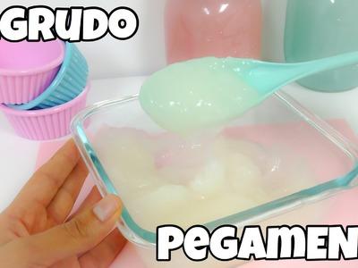 COMO HACER ENGRUDO\PASTA DE HARINA O PEGAMENTO CASERO
