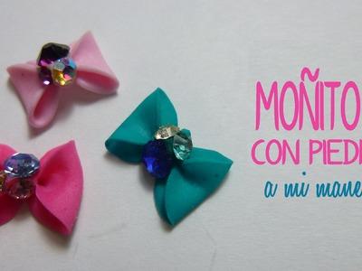 COMO HACER MOÑO DE ACRILICO EN 3D (3D Acrylic bow)