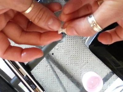 Como hacer tus propios moldes para uñas; )