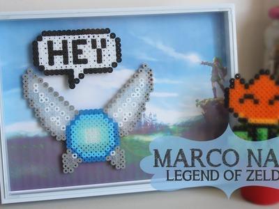 Cómo hacer un marco Hada Navi (Con Perler beads midi) con LovelyCraftDIY ♥