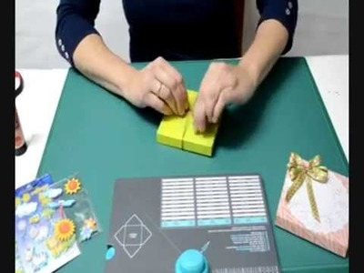 Como hacer una cajita con la tabla de sobre Envelope Punch Board Memory Keepers