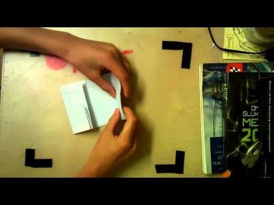 Cómo hacer una taza de papel. (Papiroflexia Nº 7)