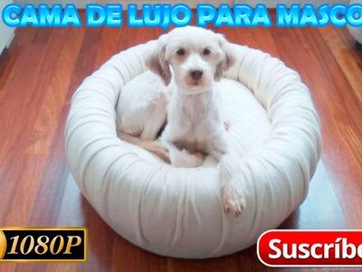 DIY: Cama de lujo para mascotas
