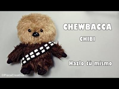 DIY Chewbacca Chibbi con Moldes Gratis