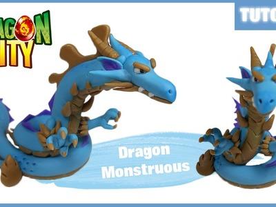 Dragon City ✰ Dragon Monstruous (Fase 3) Polymer Clay Tutorial ✰ Porcelana Fría