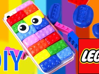 Funda para móvil de Lego casera. Técnicas para hacer DIY fichas de Lego