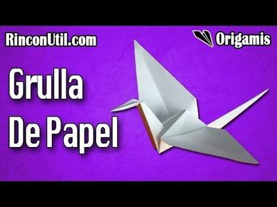 Grulla de papel | Grulla Origami