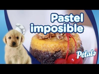 Pastel imposible. Tu Cocina Pétalo®