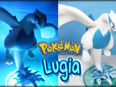 Pokemon ✰ Lugia Tutorial ✰ Polymer Clay ✰ Porcelana Fría ✰ Plastilina