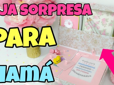 REGALO PARA EL DIA DE LAS MADRES(caja doble de sorpresas)