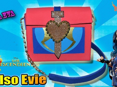 ♥ Tutorial: Bolso.Cartera de Evie de Los Descendientes Goma Eva (Foamy) ♥