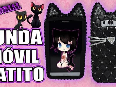 ♥ Tutorial: Funda o Carcasa para Móvil en forma de Gatito ♥