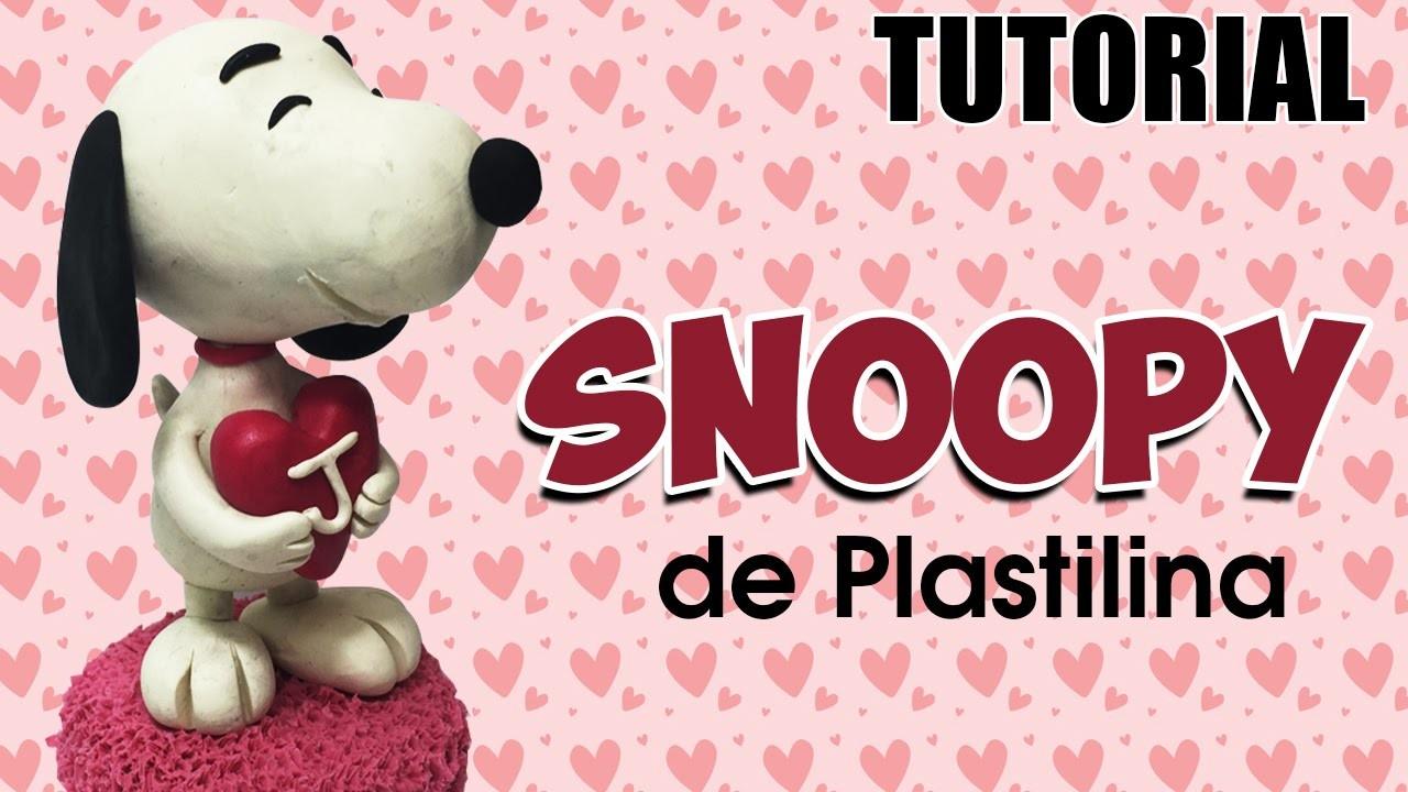 Tutorial Snoopy de Plastilina ♥ Especial 14 de Febrero