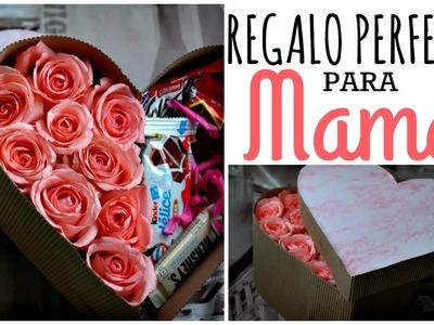 Caja de Rosas ❤ Regalo fácil 10 de Mayo