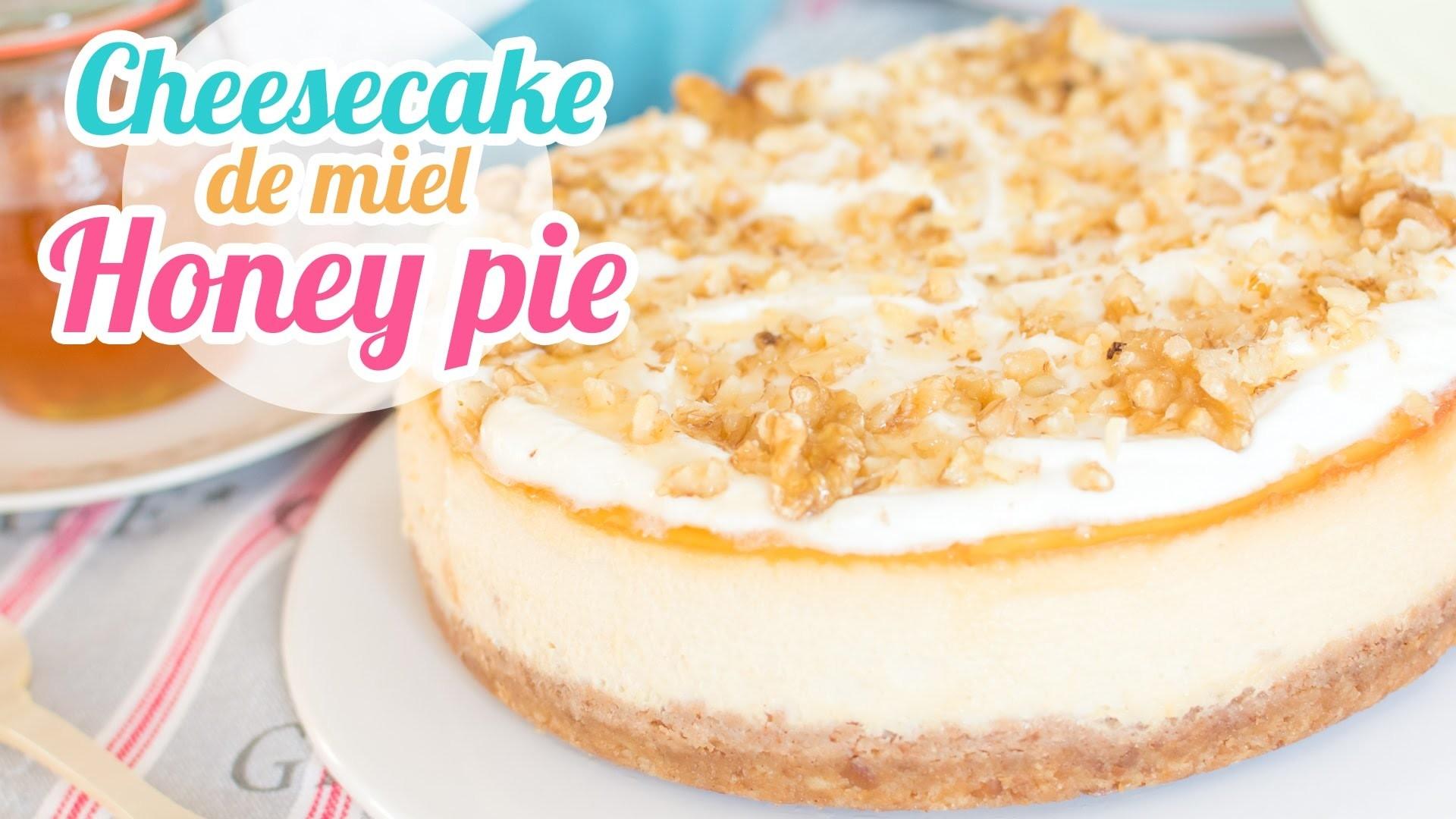 Cheesecake de Miel o Honey pie | Desafío de ingredientes con Cocina para todos