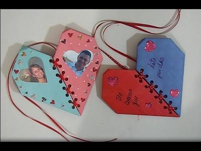 Como hacer un corazón de papel personalizado