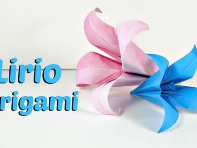 Cómo hacer un Lirio de Origami | Origami Lily | Mundo@Party