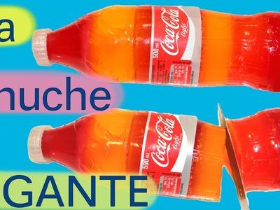 Cómo hacer una gominola gigante de Coca-Cola con gelatina o grenetina. La chuche XXL