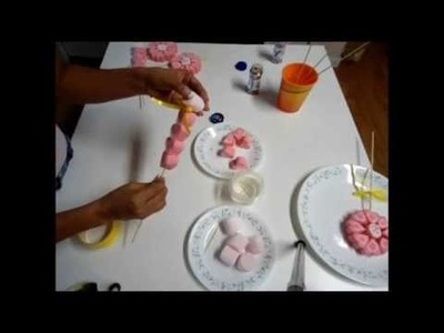 Dulces en masmelos, detalles para fiestas, bomboneras