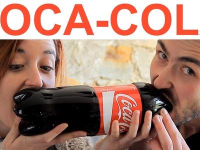 La Coca-cola de gominola más grande del mundo