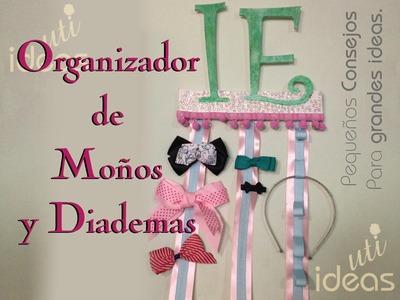 ORGANIZADOR DE MOÑOS  Y DIADEMAS