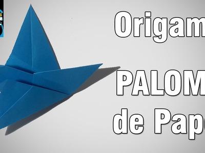 Origami | Como hacer una Paloma de papel [El Dibujante]
