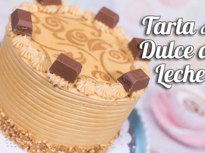 Tarta de Dulce de Leche (cajeta o manjar) | Quiero Cupcakes!