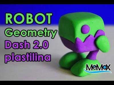 Tutorial-Robot (GeometryDash) figura de plastilina