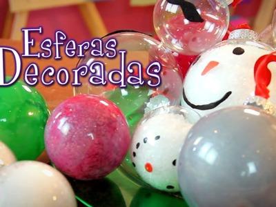 3 Ideas facilísimas y muy lindas para decorar esferas! Idea Lab - Raiza Revelles