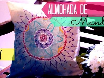 Almohada de Mandala (regalo para mamá) | Julieta ySusVideos