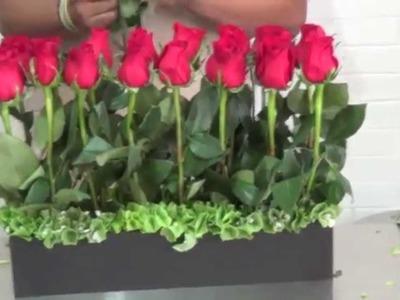 Arreglo Floral con 24 Rosas Rojas código:m38