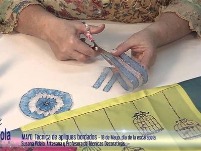 Artesanías - Simil Bordados hechos con Plasticola, como decorar disfraces