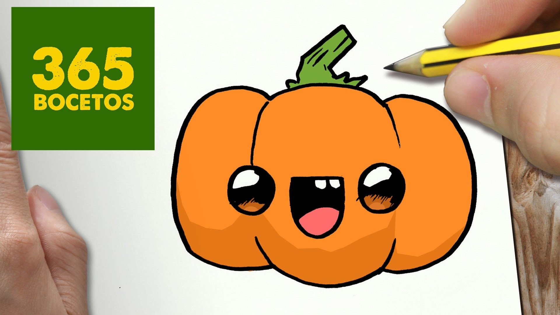 how to draw a pumpkin plant