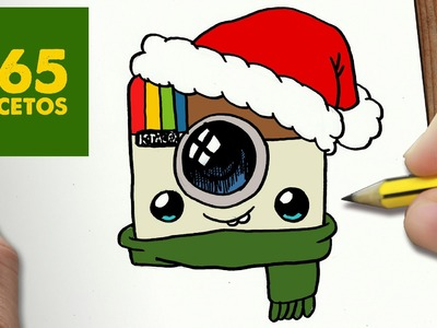 COMO DIBUJAR LOGO INSTAGRAM PARA NAVIDAD PASO A PASO: Dibujos kawaii navideños - draw Instagram