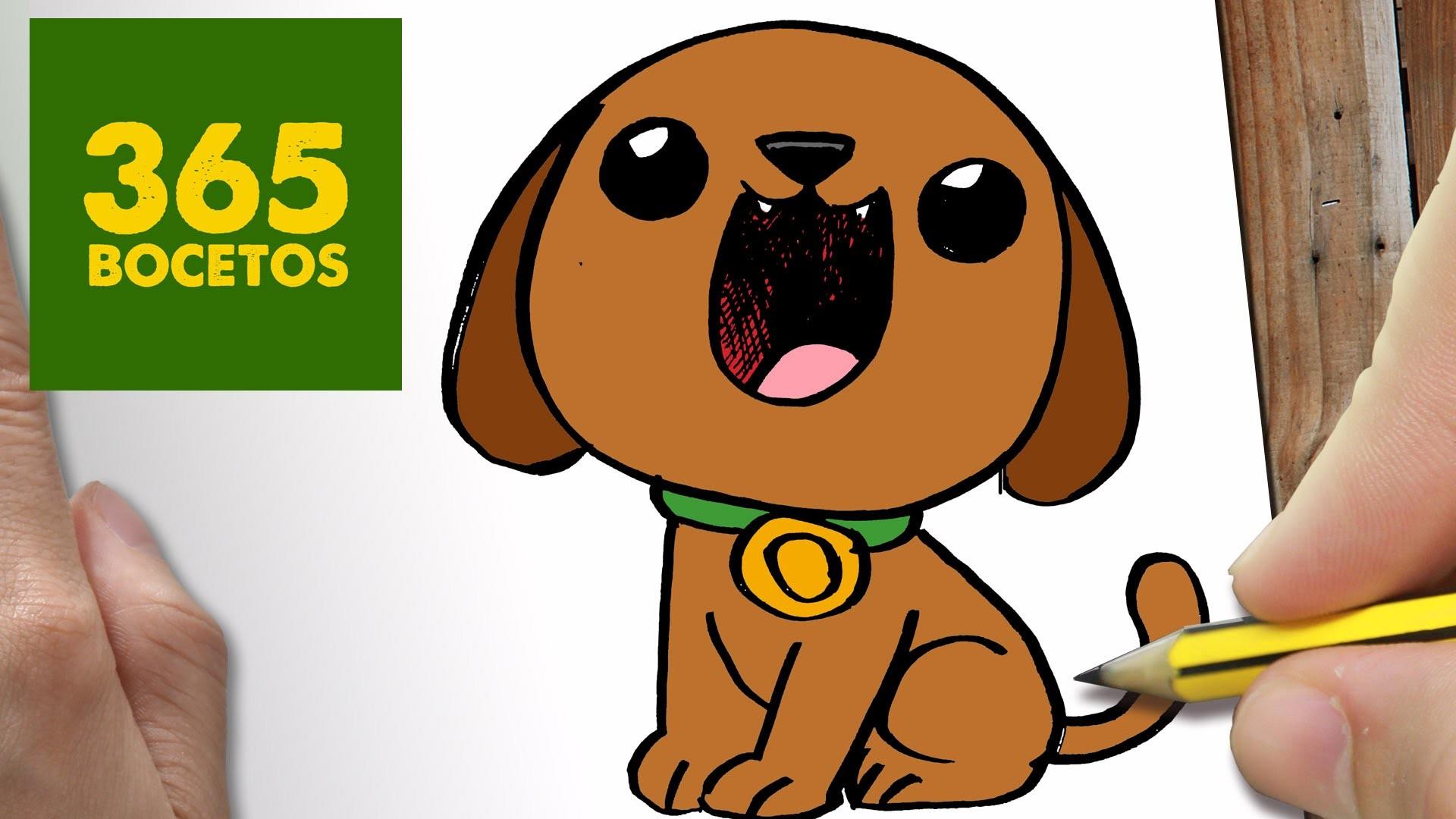Como dibujar un perro paso a paso os ense amos a dibujar for Comedor facil de dibujar