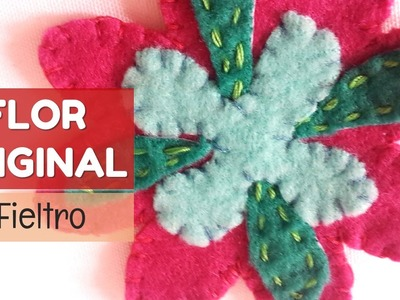 Cómo hacer lindas flores de fieltro | facilisimo.com
