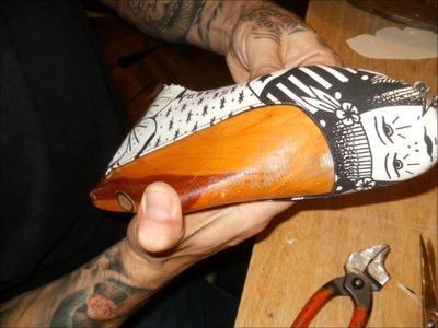 Como hacer un zapato